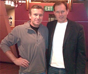 Ed Viesturs and Rich Chrisitiansen